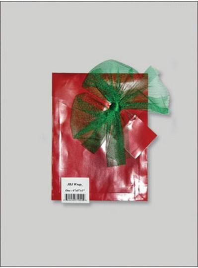 JBJ Wrap Christmas Red Small Bag