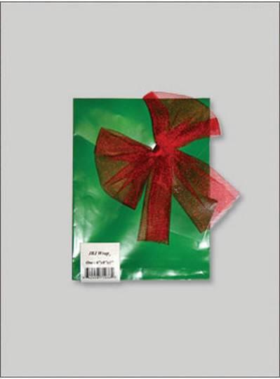 JBJ Wrap Christmas Green Small Bag
