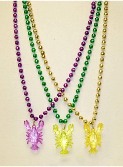 Mardi Gras Themes PGG Acrylic Crawfish