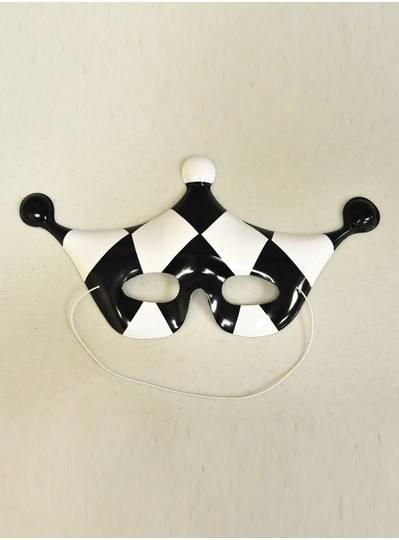 Mardi Gras Black and White  Mask SA-315B