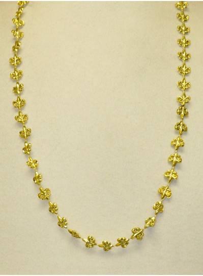 """New Orleans Themes Fleur De Lis Gold 33"""""""