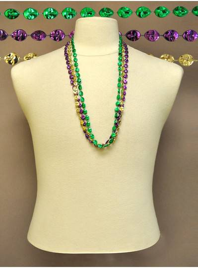 Mardi Gras Themes - Purple, Green & Gold Masks