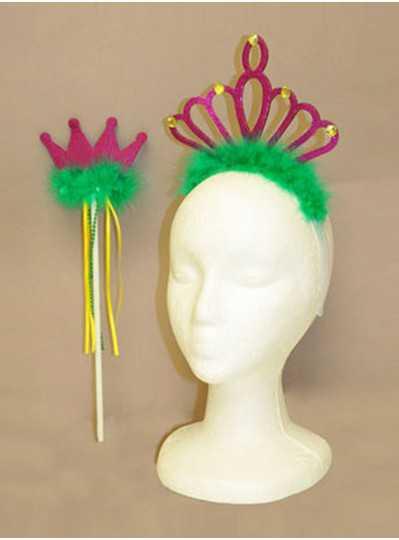 Fun Accessories - PGG Tiara Crown and Wand