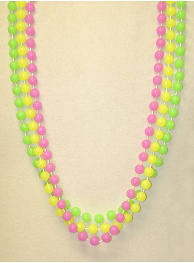 "42"" 12MM Glow In The Dark Mardi Gras Beads"