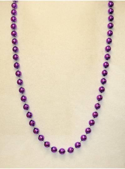 "36"" 10mm Round Metallic Purple"