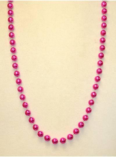 "36"" 10mm Round Metallic Pink"