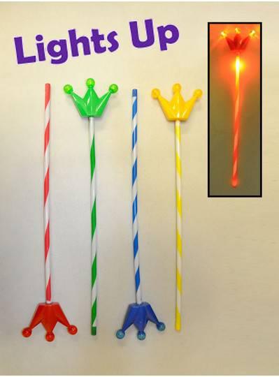 Light-up Crown Wand Assortment