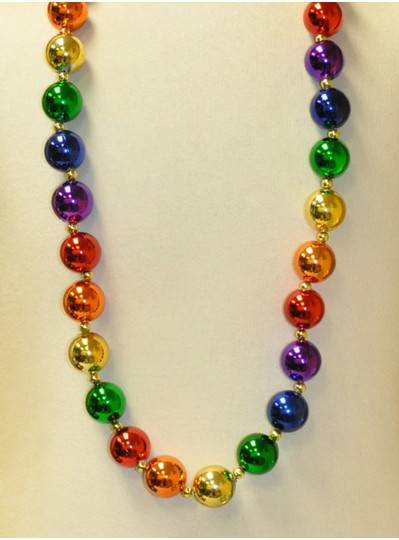 "48"" Metallic Balls Rainbow Theme"