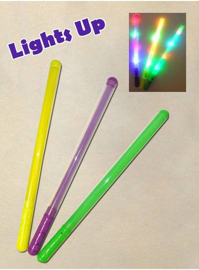 Purple, Green and Gold Light-Up Wand