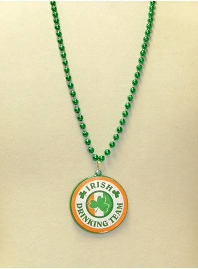 "33"" Green Irish Drinking Team Decal"