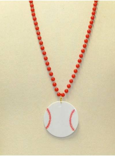 "33"" 7.5MM Beads  with 2.5"" Baseball Disc"