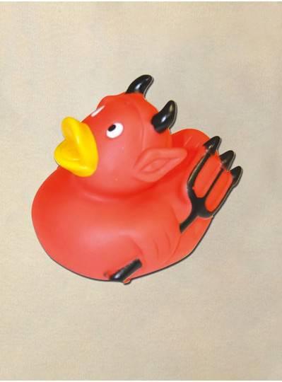 "3.5"" Devil Rubber Duck"