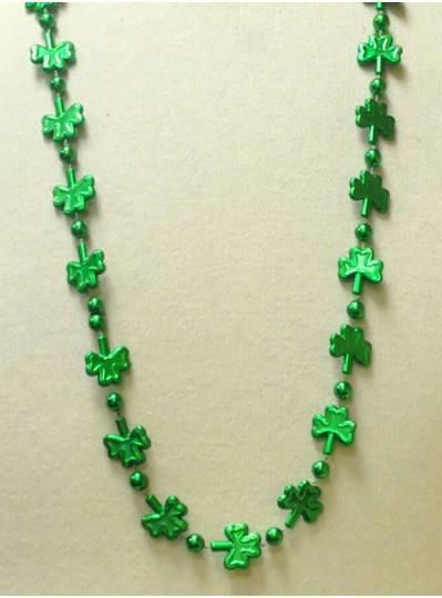 "33"" 20MM Green St. Patricks Day Shamrock"