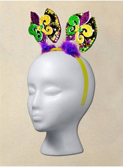 Fun Accessories - PGG Headband with 2 Fleur De Lis