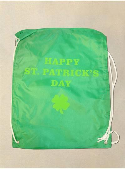 Happy St. Patricks Day Drawstring Backpack
