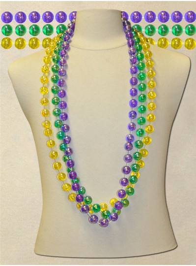 "48"" inch 18mm Aurora Borealis Beads"