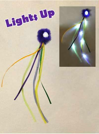Fun Accessories - LED Dread Clip - Each