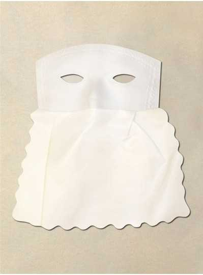 White Curtain Mask