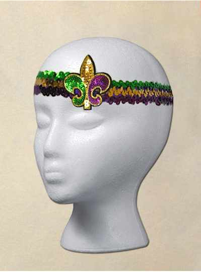 Fun Accessories - Purple, Green and Gold Sling Sho