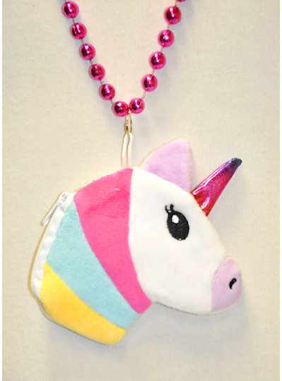 """33"""" 7MM Prism Pink And Silver Unicorns - CASE - 10"""