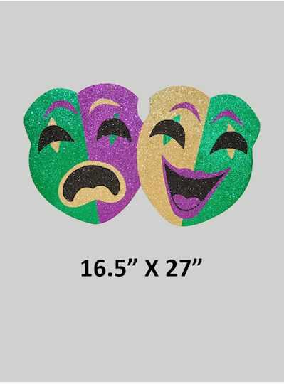 """18"""" Foam Board Fleur De Lis Emblem - Copy"""