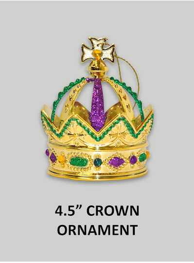"""8"""" IRON PLATE CROWN WITH JEWELS - Copy"""