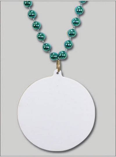 Do It Yourself Discs Turquoise Beads