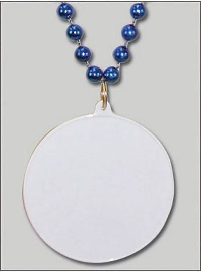 Do It Yourself Discs Blue Beads