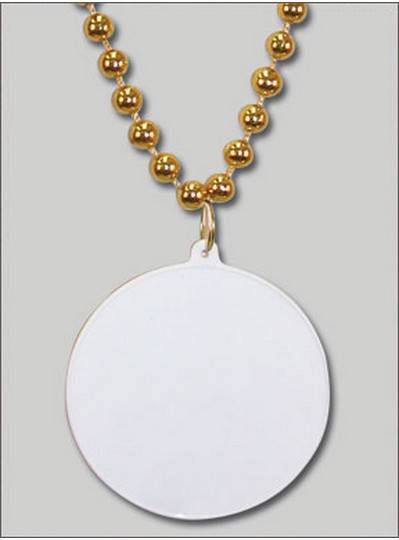 Do It Yourself Discs Gold Beads