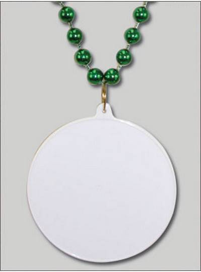 Do It Yourself Discs Green Beads