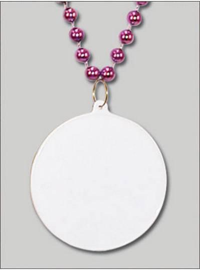 Do It Yourself Discs Purple Beads