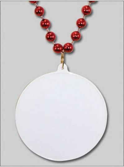 Do It Yourself Discs Red Beads