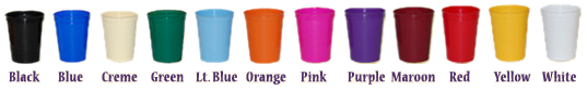cups stock colors